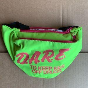Handbags - Lime green DARE fanny pack